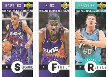 74c4f1ef22a 1996-97 Collector's Choice - Mini-Cards #M177 Damon Stoudamire / Michael  Finley
