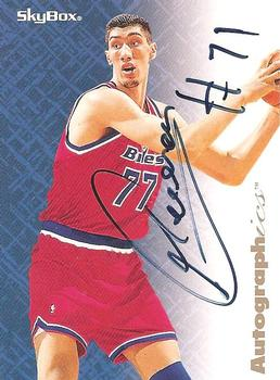 1996-97 SkyBox Premium - Autographics #57 Gheorghe Muresan Front