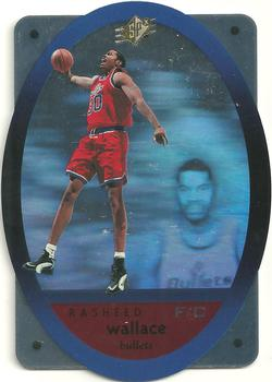 1996 SPx #50 Rasheed Wallace  Front