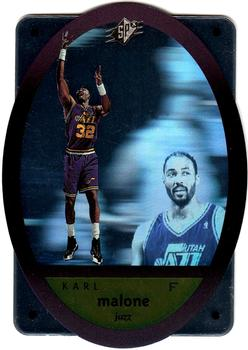 1996 SPx #47 Karl Malone  Front