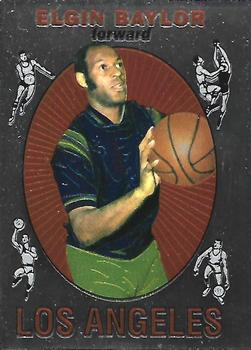 1996-97 Stadium Club - Finest Reprints #6 Elgin Baylor Front