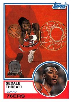 1992-93 Topps Archives - Gold #42 Sedale Threatt Front
