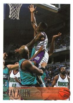 1996-97 Topps #217 Ray Allen Front