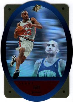 1996 SPx - Gold #15 Grant Hill Front