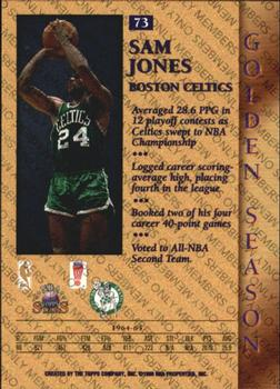 Upper Deck 1999 Century Legends Basketball Card#44 Sam Jones Boston Celtics