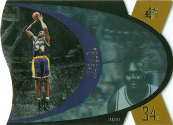 1997 SPx - Gold #24 Shaquille O'Neal Front