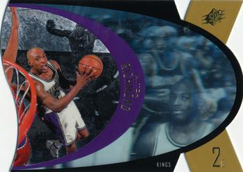 1997 SPx - Gold #40 Mitch Richmond Front
