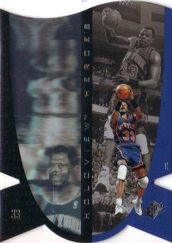 1997 SPx - Holoview Heroes #H8 Patrick Ewing Front