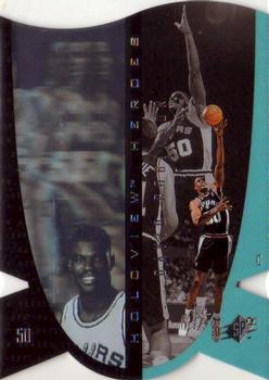1997 SPx - Holoview Heroes #H10 David Robinson Front