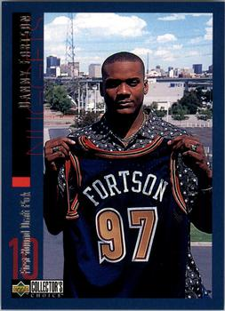 1997-98 Collector's Choice - Draft Trade #10 Danny Fortson Front