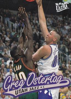 1996-97 Ultra #254 Greg Ostertag Front