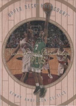 1998 Upper Deck Hardcourt - Home Court Advantage Plus #12 Kenny Anderson Front
