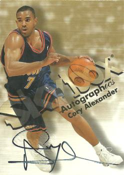 1998-99 SkyBox Premium - Autographics #NNO Cory Alexander Front