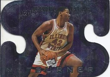 1999 Press Pass - Net Burners #NB26 Rico Hill Front