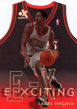 1999-00 E-X - E-Xciting #6XCT Larry Hughes Front