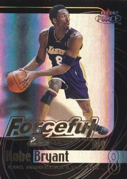 1999-00 Fleer Force - Forceful Forcefield #7 F Kobe Bryant Front