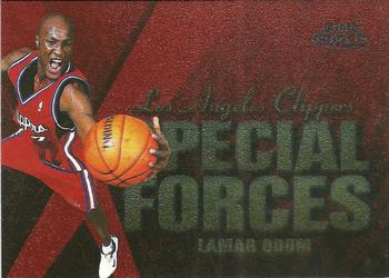 1999-00 Fleer Force - Special Forces #2SF Lamar Odom Front
