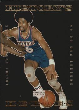 1999-00 Upper Deck Legends - History's Heroes #HH2 Julius Erving Front