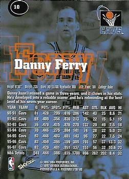 1997-98 SkyBox Premium #10 Danny Ferry Back