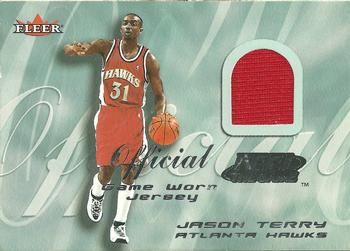 2000-01 Fleer Tradition - Feel the Game #NNO Jason Terry Front