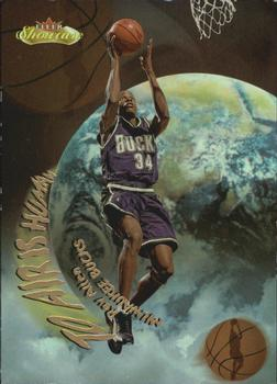 2000-01 Fleer Showcase - To Air is Human #TA9 Ray Allen Front