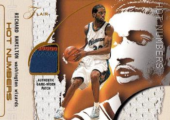 2001-02 Flair - Hot Numbers #12 Richard Hamilton Front