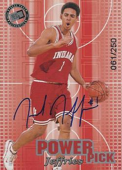 2002 Press Pass - Power Pick Autographs #NNO Jared Jeffries Front