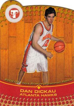 2002-03 Topps Ten #130 Dan Dickau RC NBA Basketball Trading Card