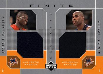 2002-03 Upper Deck Finite Elements Jerseys #JR-J Jason Richardson Card