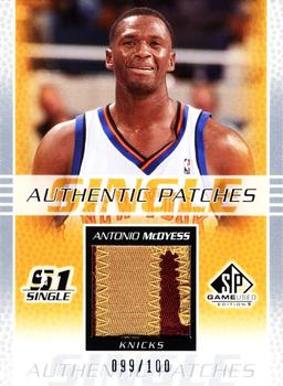 2003-04 SP Game Used - Authentic Patches #MCP Antonio McDyess Front