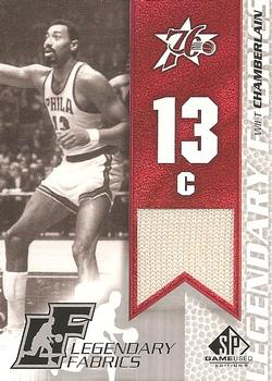 2003-04 SP Game Used - Legendary Fabrics #WCL Wilt Chamberlain Front