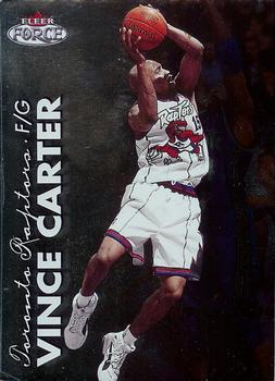 1999-00 Fleer Force #1 Vince Carter Front