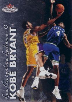 1999-00 Fleer Force #2 Kobe Bryant Front