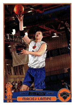 2003 04 Topps   Collection #250 Maciej Lampe Front