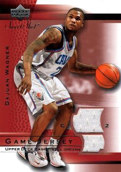 2003-04 Upper Deck Sweet Shot - Game Jersey #DW-J DaJuan Wagner Front