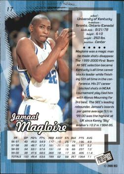 2000 Press Pass #17 Jamaal Magloire Back