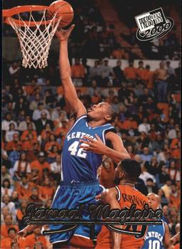 2000 Press Pass #17 Jamaal Magloire Front
