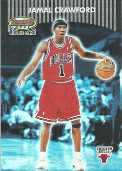 2000-01 Bowman's Best #108a Jamal Crawford Front
