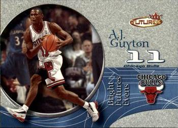 2000-01 Fleer Futures #212 A.J. Guyton Front