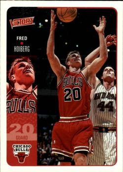 2000-01 Upper Deck Victory #28 Fred Hoiberg Front