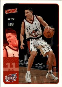2000-01 Upper Deck Victory #79 Bryce Drew Front