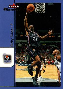 2001-02 Fleer Maximum #150 Ricky Davis Front