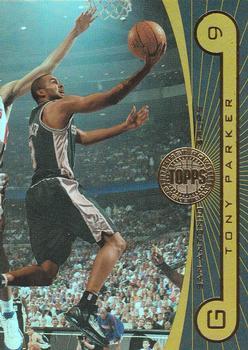 Tony Parker Basketball Card 2005-06 Upper Deck ESPN # 78