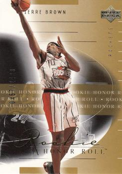 2001-02 Upper Deck Honor Roll #106 Tierre Brown Front