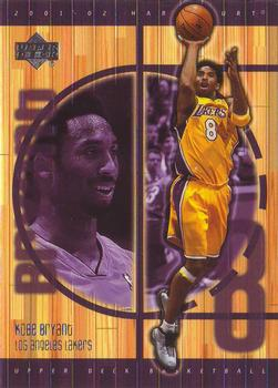 2001-02 Upper Deck Hardcourt #37 Kobe Bryant Front