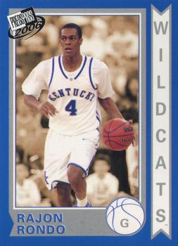 2006 Press Pass - National VIP Promos #10 Rajon Rondo Front