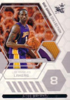2006-07 Topps Big Game - Patches #KB Kobe Bryant Front