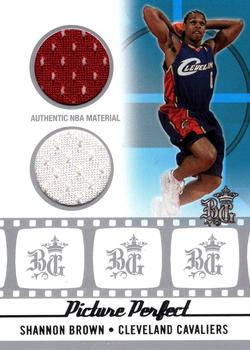 2006-07 Topps Big Game - Picture Perfect Jerseys and Shorts #PPJS-SB Shannon Brown Front