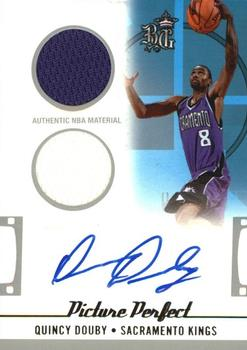 2006-07 Topps Big Game - Picture Perfect Jerseys and Shorts Autographs #PPJSA-QD Quincy Douby Front