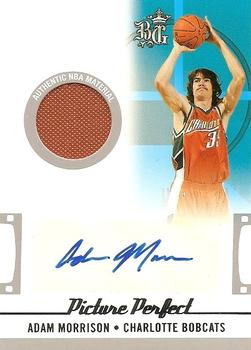 2006-07 Topps Big Game - Picture Perfect Jerseys Autographs #PPJA-AM Adam Morrison Front
